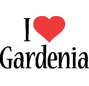 Gardenia i-love logo