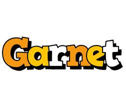 Garnet cartoon logo