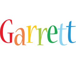 Garrett birthday logo