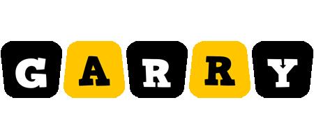Garry boots logo