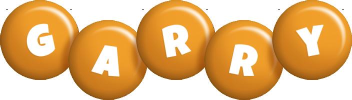 Garry candy-orange logo