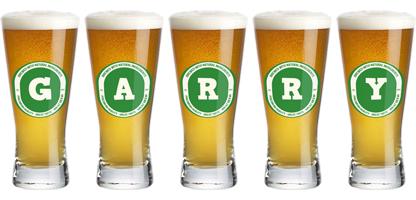 Garry lager logo