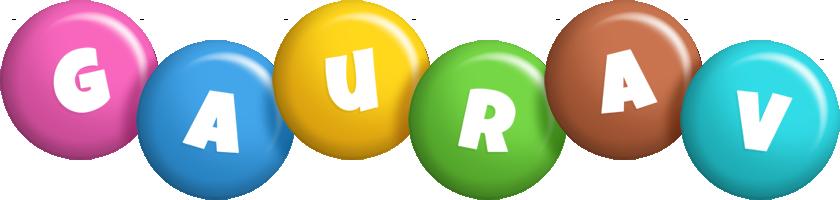 Gaurav candy logo