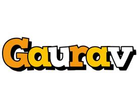 Gaurav cartoon logo