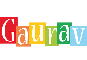 Gaurav colors logo