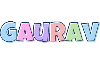Gaurav pastel logo