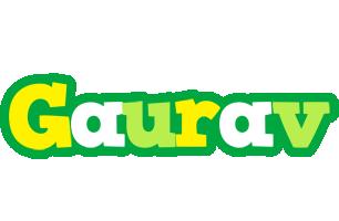 Gaurav soccer logo