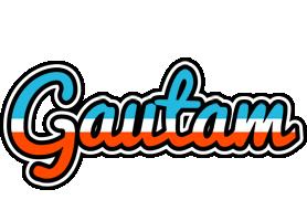 Gautam america logo