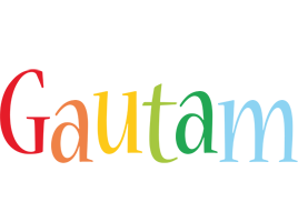 Gautam birthday logo