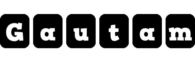 Gautam box logo