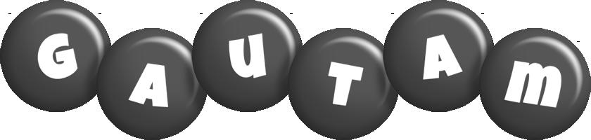 Gautam candy-black logo