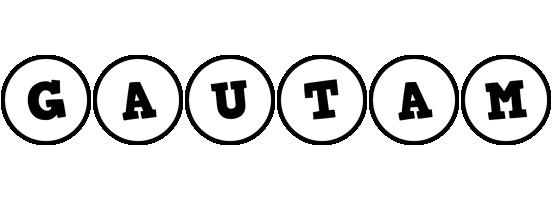 Gautam handy logo