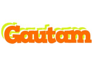 Gautam healthy logo