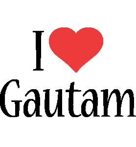 Gautam i-love logo