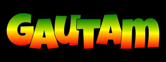 Gautam mango logo