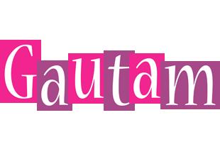Gautam whine logo
