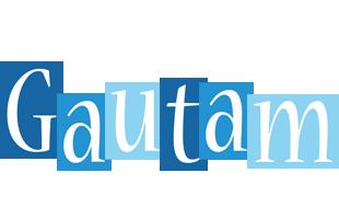 Gautam winter logo