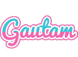 Gautam woman logo