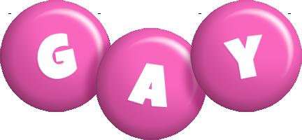 Gay candy-pink logo