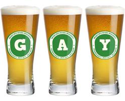 Gay lager logo