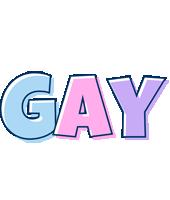 Gay pastel logo