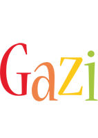 Gazi birthday logo