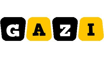 Gazi boots logo