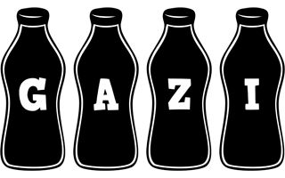 Gazi bottle logo