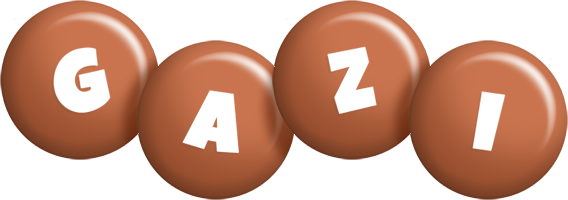 Gazi candy-brown logo