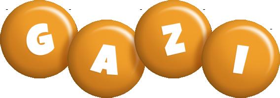 Gazi candy-orange logo
