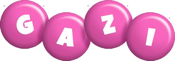Gazi candy-pink logo