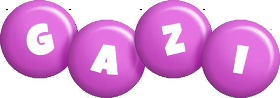 Gazi candy-purple logo