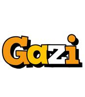 Gazi cartoon logo