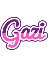 Gazi cheerful logo
