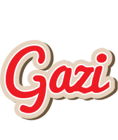 Gazi chocolate logo