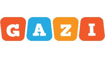 Gazi comics logo
