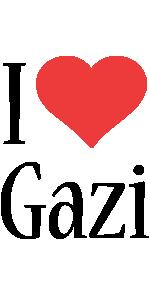 Gazi i-love logo