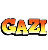 Gazi sunset logo