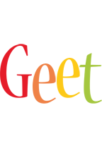 Geet birthday logo