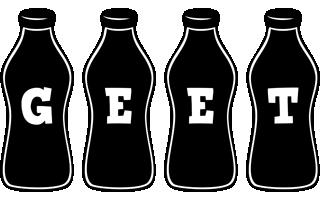 Geet bottle logo