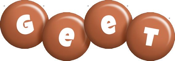 Geet candy-brown logo