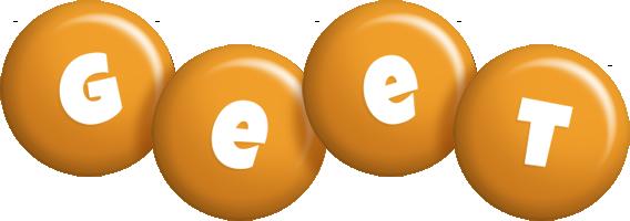 Geet candy-orange logo
