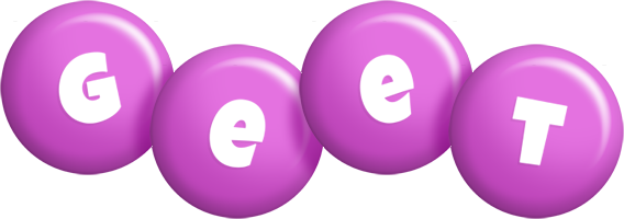 Geet candy-purple logo
