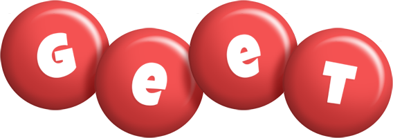 Geet candy-red logo