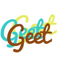 Geet cupcake logo