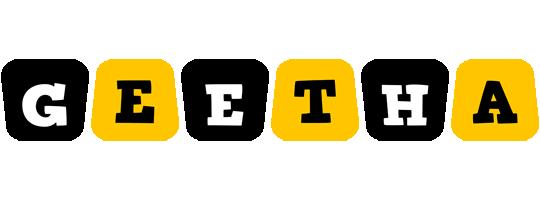 Geetha boots logo