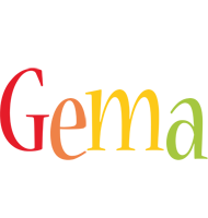 Gema birthday logo