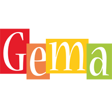 Gema colors logo