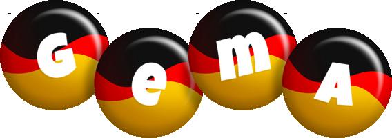 Gema german logo