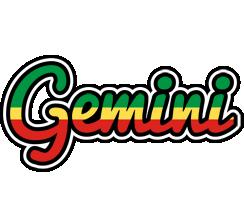 Gemini african logo